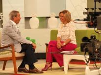 Con Arturo Fernández en Ahora Marta