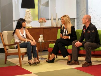 Con Beatriz Rico y Santiago Urrialde en Ahora Marta