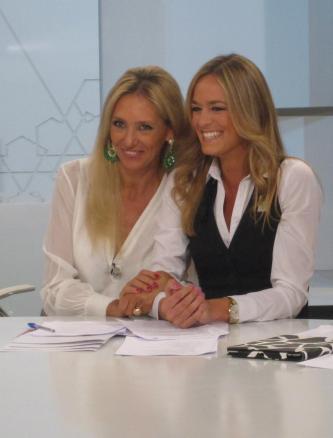 Con Mercedes Morenés en Ahora Marta