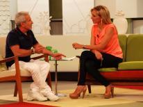 Con Victor Ullate en Ahora Marta