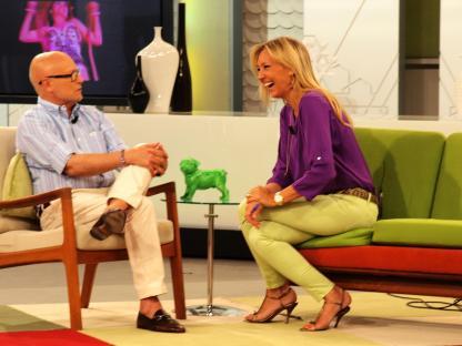 Con Carlos G.Calvo en Ahora Marta
