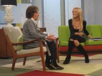 Con Irene Iribarren en Ahora Marta
