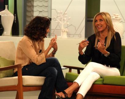 Con Toni Acosta en Ahora Marta
