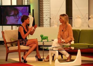Con Mónica Hoyos en Ahora Marta