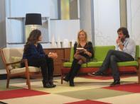 Con Nuria Roca y Juan del Val en Ahora Marta