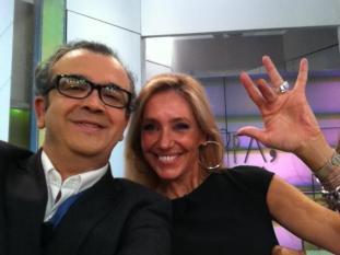 Con Jose Luis Roig en Ahora Marta