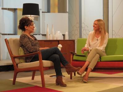 Con Isabel Ordaz en Ahora Marta