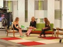 Con María Adanez y Cristina Marcos en 'Ahora Marta'