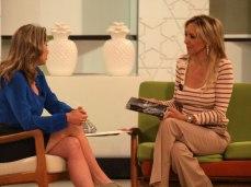 Con Almudena de Arteaga en 'Ahora Marta'