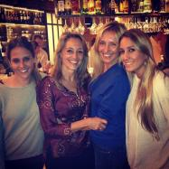 Con mi hermana Paloma y sus hijas