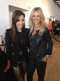 Con Mónica de Tomás en 080 Barcelona Fashion