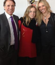 Brunch de la revista Grazia, con el vicepresidente de Planeta y su guapísima hija Claudia