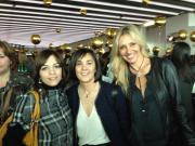Con Erika, jefa del grupo Mondadori y mi querida Charo Izquierdo, directora de la revista Grazia