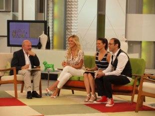 Con Jesús Bonilla, Ana Ruiz y Mario Caballero
