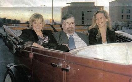 Con Teresa Campos e Ibáñez Serrador