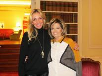 Con María Teresa Campos