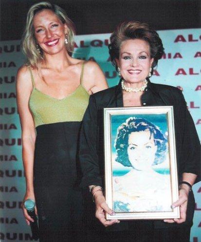 Con Carmen Sevilla