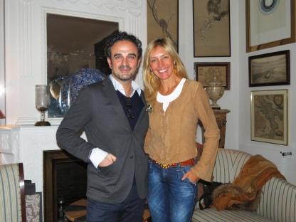 Durante mi entrevista a Lorenzo Castillo, uno de los mejores decoradores del mundo según AD France.