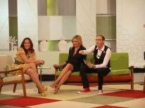 Con Rosario,'Chayo' Mohedano y Mario Caballero