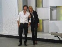 Con Juan Pablo Di Pace