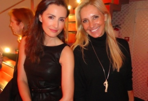 Con Mónica de Tomás en el Preestreno del documental Editoras de Vogue