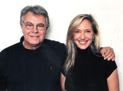 Con el ex-presidente Felipe González