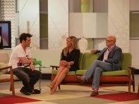 Con Fonsi Nieto y Carlos Gª-Calvo
