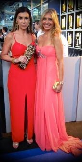 Con Carmen Posadas en los premios Yo Dona 2011