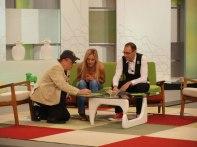 Con Javier Gurruchaga y Mario Caballero