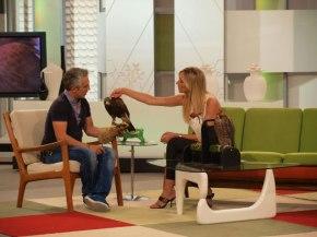 Con Jorge Castaño y sus halcones