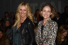 Con Carla Royo-Villanova en 080 Barcelona Fashion