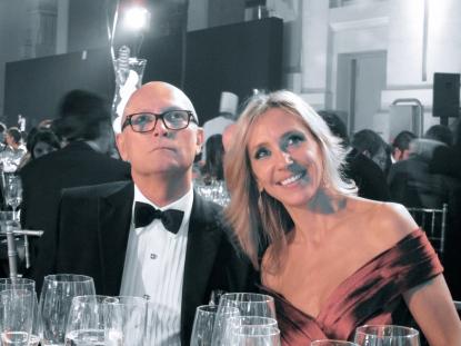 Con Carlos García Calvo en los premios Telva 2010