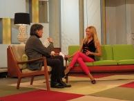 Con Josep María Flotats en Ahora Marta