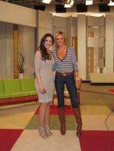 Con Diana Navarro en Ahora Marta