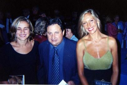 Con el escritos José Luis Ferris y Luisa Castro