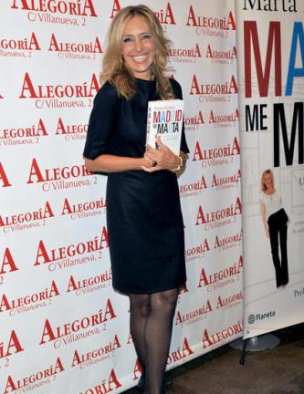 """En la presentación de mi libro """"Madrid me Marta"""""""