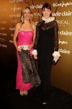 Con Mabel Lozano en las Antenas de Oro