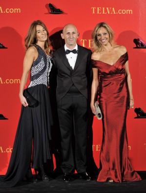 Con Modesto Lomba y Mónica Martin Luque en los premios Telva 2010