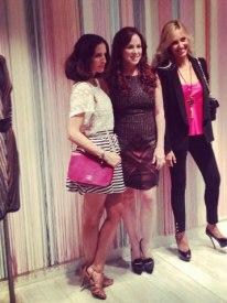 Con Carolina Herrera y Kavan, propietaria de la tienda de Missoni