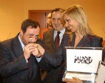 Con el periodista Javier González Ferrari - Premios PR Noticias
