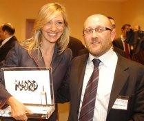 Con Pedro Aparicio - Premios PR Noticias