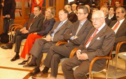 Con Gallardón y Alvárez del manzano - Premios PR Noticias