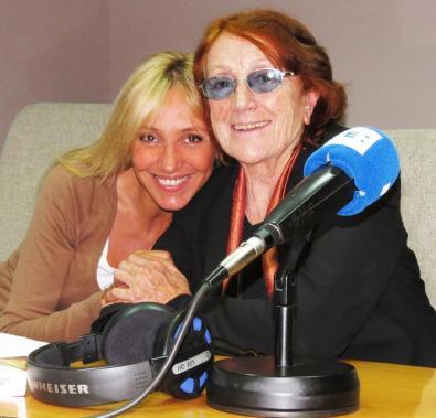 Con Rosa Regàs