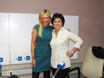 Con la escritora Laura Restrepo