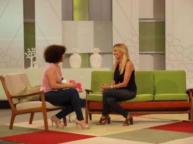 Con Rosa López en 'Ahora Marta'