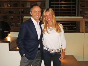 Con Nerio Alessandri, fundador y presidente de Technogym.