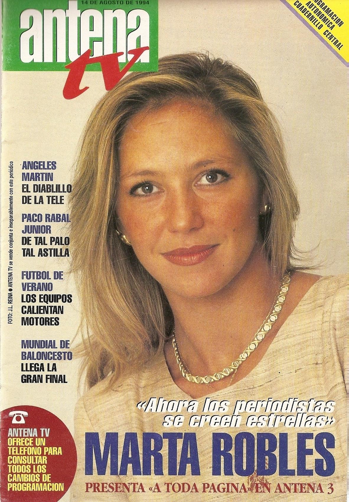 antena tv agosto 1994